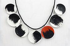 Jackie Necklace by Klara Borbas (Polymer Clay Necklace)