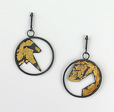 Legacy Earrings by Marcia Meyers (Gold & Silver Earrings)