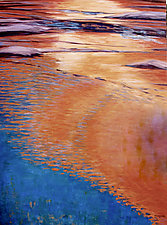 Illuminated Flow by Jan Fordyce (Oil Painting)