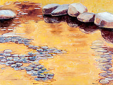 Reflected Sunshine by Jan Fordyce (Oil Painting)