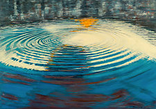 Ripple of Uncertainty by Jan Fordyce (Oil Painting)