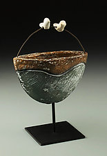 Journey of Love II by Cathy Broski (Ceramic Sculpture)