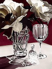 Burgundy by Barbara Buer (Giclee Print)