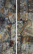 Age and Maturity Diptych by Nancy Eckels (Acrylic Painting)
