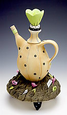Twice As Much As OK by Laura Peery (Ceramic Teapot)
