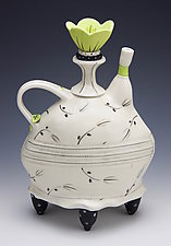 Loose Leaf Tea #1 by Laura Peery (Ceramic Teapot)