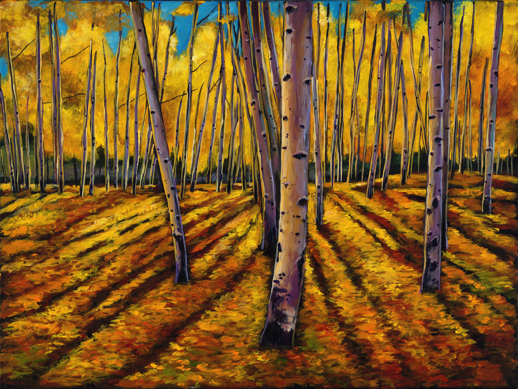 How To Paint Foliage With Acrylics