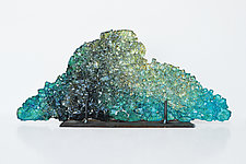 Dreamscape 48 by Mira Woodworth (Art Glass Sculpture)