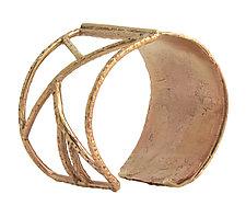 Maria Cuff Bracelet by Susan Crow (Bronze Bracelet)