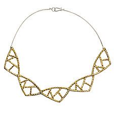 Multi Cell Collar by Susan Crow (Bronze Necklace)