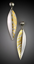 Botanica Earrings by Marcia Meyers (Gold & Silver Earrings)