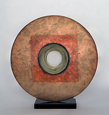 Nature's Way in Copper by Cheryl Williams (Ceramic Sculpture)