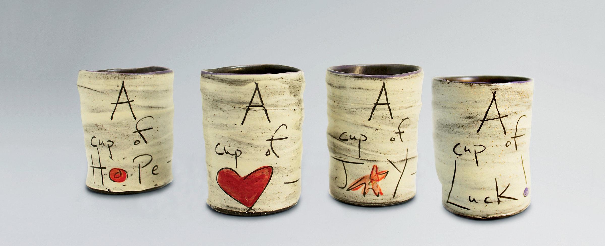 Cups of... by Noelle VanHendrick and Eric Hendrick (Ceramic Mugs ...
