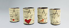 Cups of... by Noelle VanHendrick and Eric Hendrick (Ceramic Mugs)