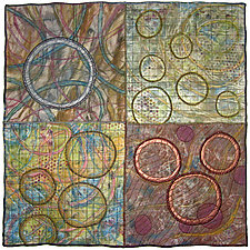 Geoforms: Porosity #17 by Michele Hardy (Fiber Wall Art)