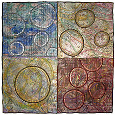 Geoforms: Porosity #18 by Michele Hardy (Fiber Wall Hanging)
