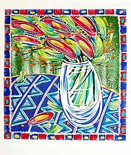 Carnival Reds by Penny Feder (Serigraph Print)