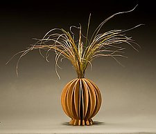 Lotus Vase by Seth Rolland (Wood Vase)