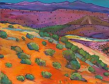 Sage Slopes by Johnathan  Harris (Acrylic Painting)