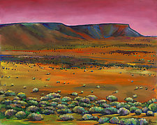 Desert Drifting by Johnathan  Harris (Acrylic Painting)