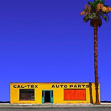 CalTex Auto Parts by Ed Freeman (Color Photograph)