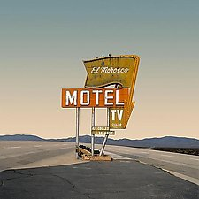 El Morocco Motel by Ed Freeman (Color Photograph)