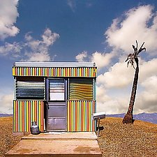 Salton City Trailer by Ed Freeman (Color Photograph)