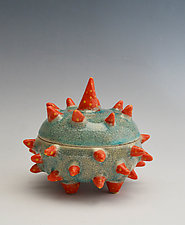 Catalina Urchin Container by Vaughan Nelson (Ceramic Box)