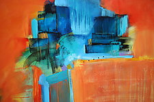 Tangerine Dream 1 by Nicholas Foschi (Acrylic Painting)