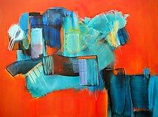 Tangerine Dream 2 by Nicholas Foschi (Acrylic Painting)