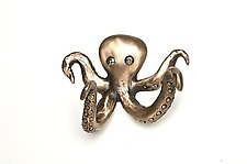 Olga Octopus Hook by Rosalie Sherman (Metal Hardware)