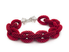 Woven Chain Bracelet by Claudia Fajardo (Beaded Bracelet)