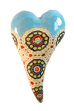 Next Summer by Laurie Pollpeter Eskenazi (Ceramic Wall Sculpture)