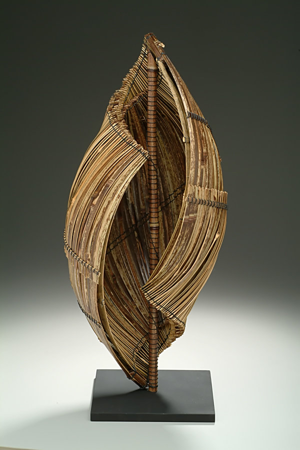 Hearing The Sea By Charissa Brock Bamboo Sculpture