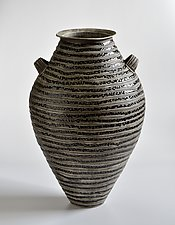 Large Ancient Jar by Boyan Moskov (Ceramic Sculpture)