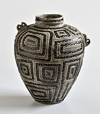 Ancient Jar 123 by Boyan Moskov (Ceramic Sculpture)
