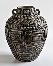 Ancient Jar 223 by Boyan Moskov (Ceramic Sculpture)