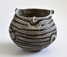 Ancient Bowl by Boyan Moskov (Ceramic Sculpture)
