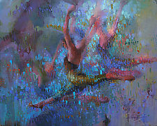 Terpsichore by Cathy Locke (Oil Painting)