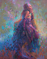 Mnemosyne by Cathy Locke (Oil Painting)