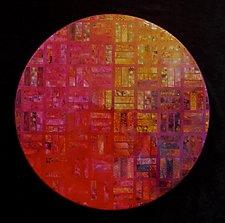 Criss-Cross by Patty Carmody Smith (Mixed-Media Wall Sculpture)