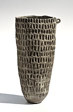 Tall Basket Form by Boyan Moskov (Ceramic Sculpture)