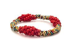 Degrade Bracelet by Claudia Fajardo (Beaded Bracelet)