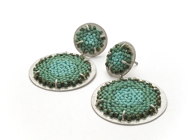 Double Flat Earrings