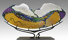 Dreamscape by Karen Ehart (Art Glass Sculpture)