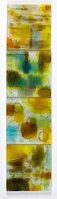 Sonnet LXXXI (Pablo Neruda) by Martha Pfanschmidt (Art Glass Wall Sculpture)