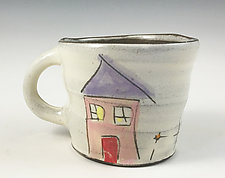 Home Mug by Noelle VanHendrick and Eric Hendrick (Ceramic Mug)