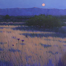 Desert Moon by Mary Jo Van Dell (Oil Painting)