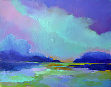 As It Fades by Filomena Booth (Acrylic Painting)
