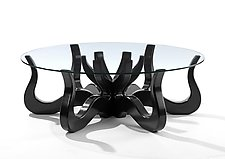 white octopus coffee table - coffee addicts